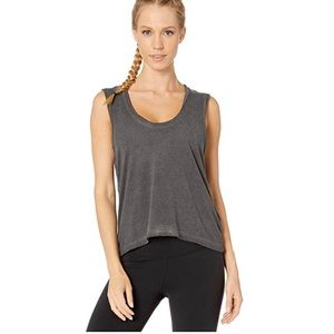 Free People Movement Back Country Tank Top BLACK